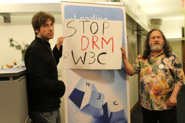 Image for Meeting with the World Wide Web Consortium on the 2016 Day Against DRM