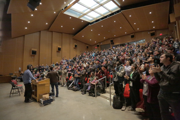 Image for LibrePlanet Keynote Audience