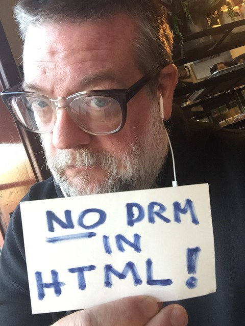 Image for San Francisco, USA: Selfie against DRM in Web standards