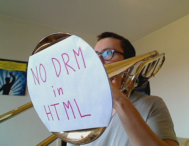 Image for Malmö, Sweden: Selfie against DRM in Web standards