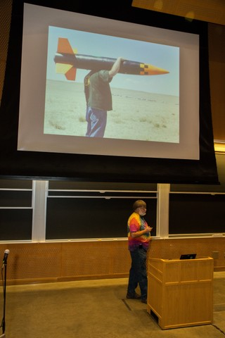 Image for Bdale keynote rocket pic