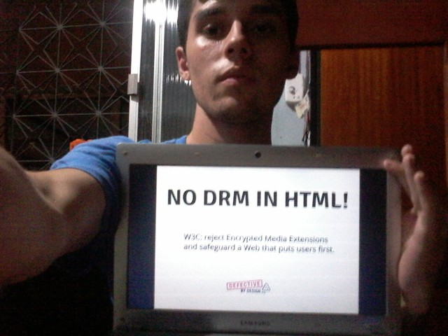 Image for No DRM in Web standards!