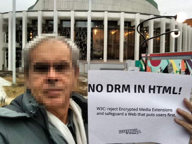 Image for No DRM in Web standards! - Montreal