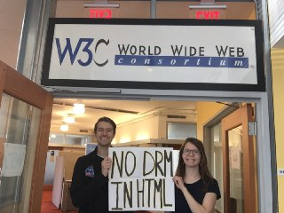 Image for No DRM in Web standards! - Cambridge, MA