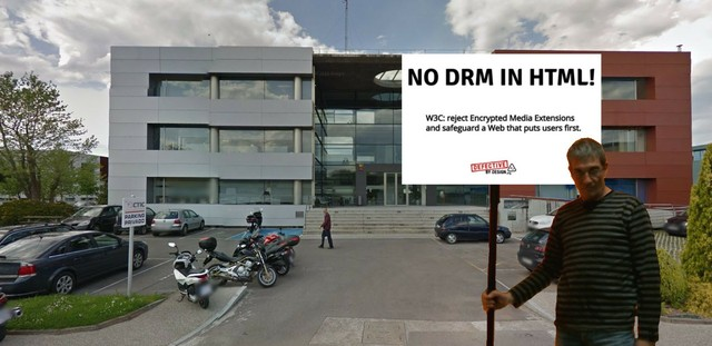 Image for No DRM in Web standards! - Spain