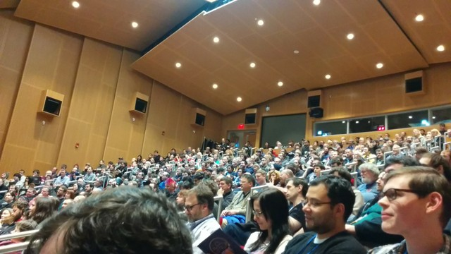 keynote audience