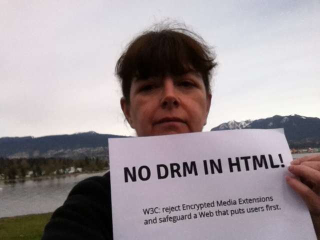 Image for Vancouver -- No DRM in Web standards!