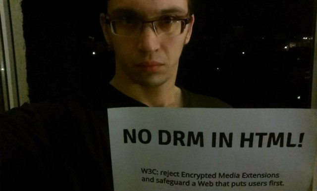 Image for No DRM in Web standards
