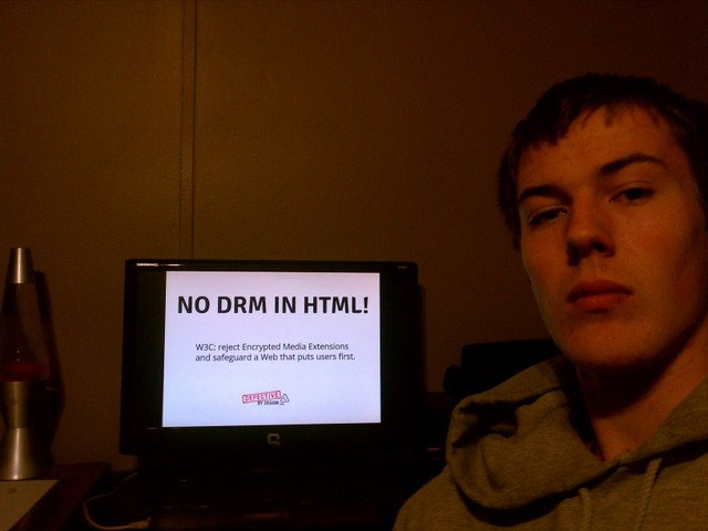 Image for Michigan - No DRM in Web standards!