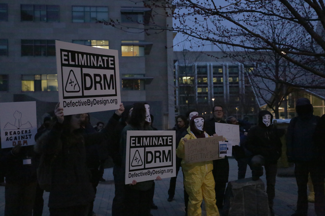 Image for Protesting DRM at the W3C