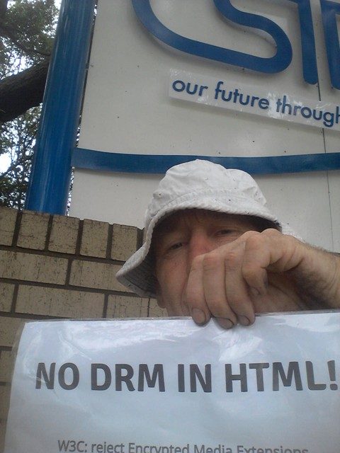 Image for Pretoria W3C Office-- Selfie against DRM in Web standards