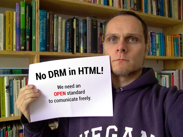 Image for Selfie against DRM in Web standards