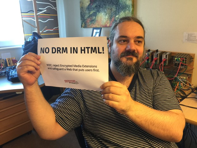 Image for Västerås, Sweden -- Selfie against DRM in Web standards