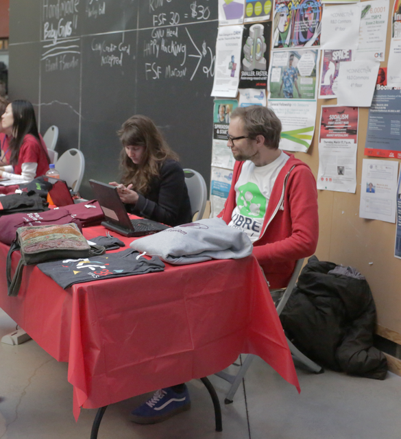 Image for LibrePlanet 2016 Day 1 Hallways